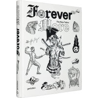 Forever More: The New Tattoo 永恒的当下:新的纹身图案设计画册 潮流刺青纹身参考图 英文原