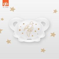 gb好孩子安抚奶嘴0-6个月新生儿超软安睡型宽口径母乳实感硅胶S款