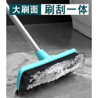户外地板刷子长柄家用浴室厕所浴缸瓷砖死角清洁硬毛卫生间刷
