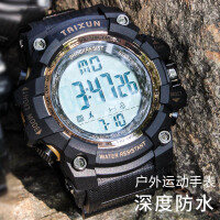 多功能数字LED电子手表男士大表盘防水夜光商务户外运动手表