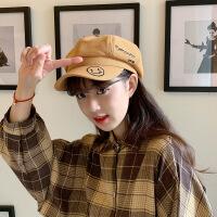 秋季薄款八角帽女英伦时尚百搭复古贝雷帽网红帽子女韩版潮鸭舌帽