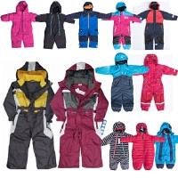 儿童滑雪服男女秋冬防风防水宝宝棉小孩连体滑雪衣裤套装
