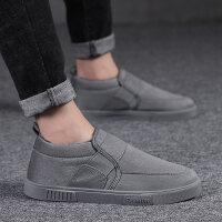 休闲鞋子二棉鞋韩版潮流板鞋男冬季潮鞋2018新款棉鞋男保暖加绒
