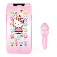 婴儿宝宝音乐手机充电触屏儿童仿真电话男孩女孩0-1-3岁早教玩具c KT +充电线+挂绳+送手表