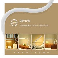 夹子式大学生护眼书桌夹灯宿舍床上卧室床头灯可充电调光台灯