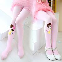 夏天家女童连裤袜春秋夏儿童舞蹈袜子踩脚白色丝袜公主打底裤