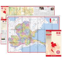 世界分国地图・亚洲-泰国地图