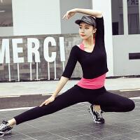 瑜伽服套装女新款春夏时尚网红健身房专业运动速干2019瑜珈初学者