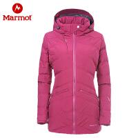 Marmot/土拨鼠冬季新款女式户外防水透气防风保暖羽绒服