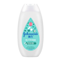 强生(Johnson) 婴儿牛奶润肤露200ml 保湿润肤乳液 滋润营养