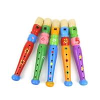 儿童短笛子乐器初学女孩幼儿园吹奏音乐早教玩具塑料六孔竖笛