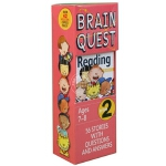 现货 大脑任务 阅读 2 *** 7-8岁卡片书 英文原版 Brain Quest Grade 2 Reading 认