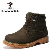 Plover男士英伦马丁靴子高帮鞋新款潮流工装靴军靴男棉鞋A04015