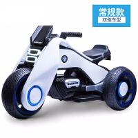 儿童电动三轮车儿童电动摩托车男女宝宝可坐人小孩玩具电瓶童车大号摩托车