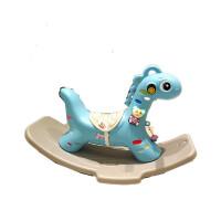 摇摇马木马宝宝玩具儿童摇马带音乐塑料1-3周岁礼物加厚