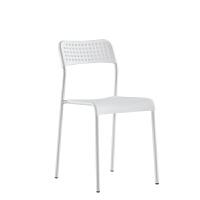 会议折叠椅电脑靠背椅子教育培训机构教室学生椅家用塑料凳子塑料靠背塑胶椅子SN5763