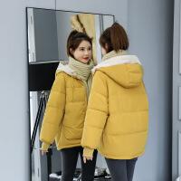 2019新款冬装韩版女新款潮短款斗篷型面包服小棉袄加厚棉衣外套