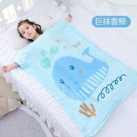 婴儿睡袋宝宝春秋夏季薄款幼儿童纱布防踢被神器四季通用被子