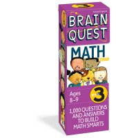 Brain Quest Grade 3 Math 智力开发系列:3年级数学 ISBN9780761141372