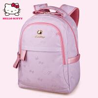 HelloKitty凯蒂猫 KT1136浅紫 儿童书包 小学生书包 女童韩版3-6年级减负护脊书包