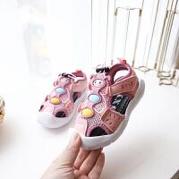 男女童凉鞋宝宝学步鞋小童鞋软底儿童鞋子1-3-6岁
