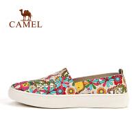 【全店满300减100】camel骆驼户外女款休闲徒步鞋 透气耐磨女休闲单鞋