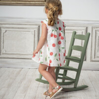 davebella戴维贝拉2020夏新款女童连衣裙宝宝洋气公主裙子DB13065