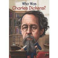 【现货】英文原版 WHO WAS CHARLES DICKENS 查尔斯狄更斯是谁 名人传记 中小学生读物
