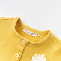 davebella戴维贝拉2020春季新款女童毛衣连衣裙女宝裙子ODBJ12801