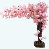 多层仿真樱花树桃花树 樱花单只樱花商城酒店橱窗大型假婚庆制定