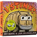 英文原版绘本 I Stink 垃圾车来了 纸板书 Kate McMullan 亲子共读