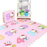 泡沫地垫儿童可爱卡通动漫拼图爬行垫家用卧室拼接防滑榻榻米c