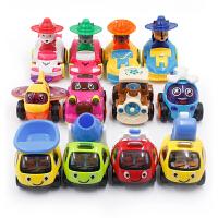 贝贝鸭惯性车回力车工程车九件套多款可选