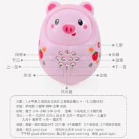 新生儿启萌儿童智能安抚手摇铃玩具婴儿0-1岁宝宝抓球软胶套装