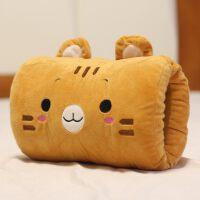 龙猫暖手抱枕午睡枕暖手捂插手枕暖手筒两用熊猫毛绒玩具公仔儿童 28厘米