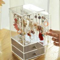 首饰盒公主欧式韩国手表项链手饰品耳环耳钉盒子收纳盒大容量