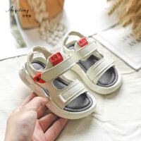 男童凉鞋软底夏季儿童沙滩鞋女童防滑休闲鞋