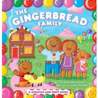 【预订】The Gingerbread Family: A Scratch-And-Sniff Book