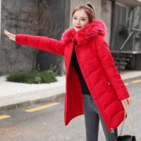 羽绒服反季特价冬装衣女胖MM200斤中长款新款大码女装韩版潮