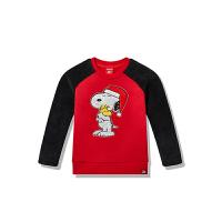 【3折价71.7】安踏童装 休闲舒适套头卫衣套头衫婴小童装A37849708