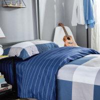 学生宿舍单人床单被套床上用品0.9m被褥套装六件套j定制