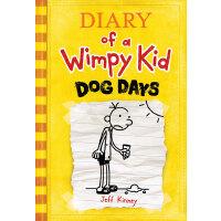 [现货]英文原版 小屁孩日记 4 小鬼日记 Diary of a Wimpy Kid 伏天