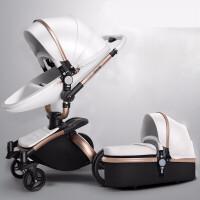 新生儿推车婴儿推车可坐可躺双向轻便折叠婴儿车推车新生高景观推车JW190