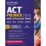 KAPLAN ACT 2014 PREMIER WITH 6 PRACTICE TESTS 英文原版