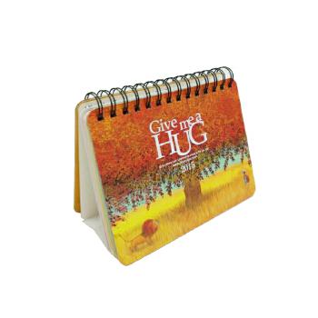 日历型笔记本:亲亲抱抱(幾米绘本《拥抱》主题台历笔记本)正版授权幾米《拥抱》主题台历笔记本。温暖的2015,每一天的《亲亲抱抱》!