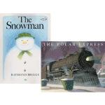 圣诞节绘本 英文原版 Polar Express/Snowman 2册 极地特快 雪人 Uri Shulevitz
