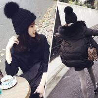 女帽秋冬季韩版潮时尚休闲百搭可爱学生冬天保暖亲子针织帽