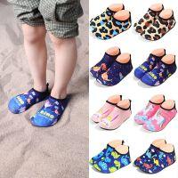 夏季儿童沙滩鞋男女童婴幼儿速干海边拖鞋宝宝软底凉鞋