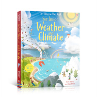英文原版 看里面系列 揭秘天气 Usborne See Inside Weather & Climate 科普立体翻翻