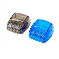 晨光92744/92745透明回形针收纳盒滚动出针摩天轮/方形磁性针盒一个装 多款可选 颜色随机